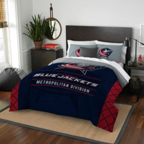 St. Louis Blues Draft Full/Queen Comforter Set by Northwest
