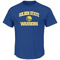 Big & Tall Majestic Golden State Warriors Heart and Soul II Tee