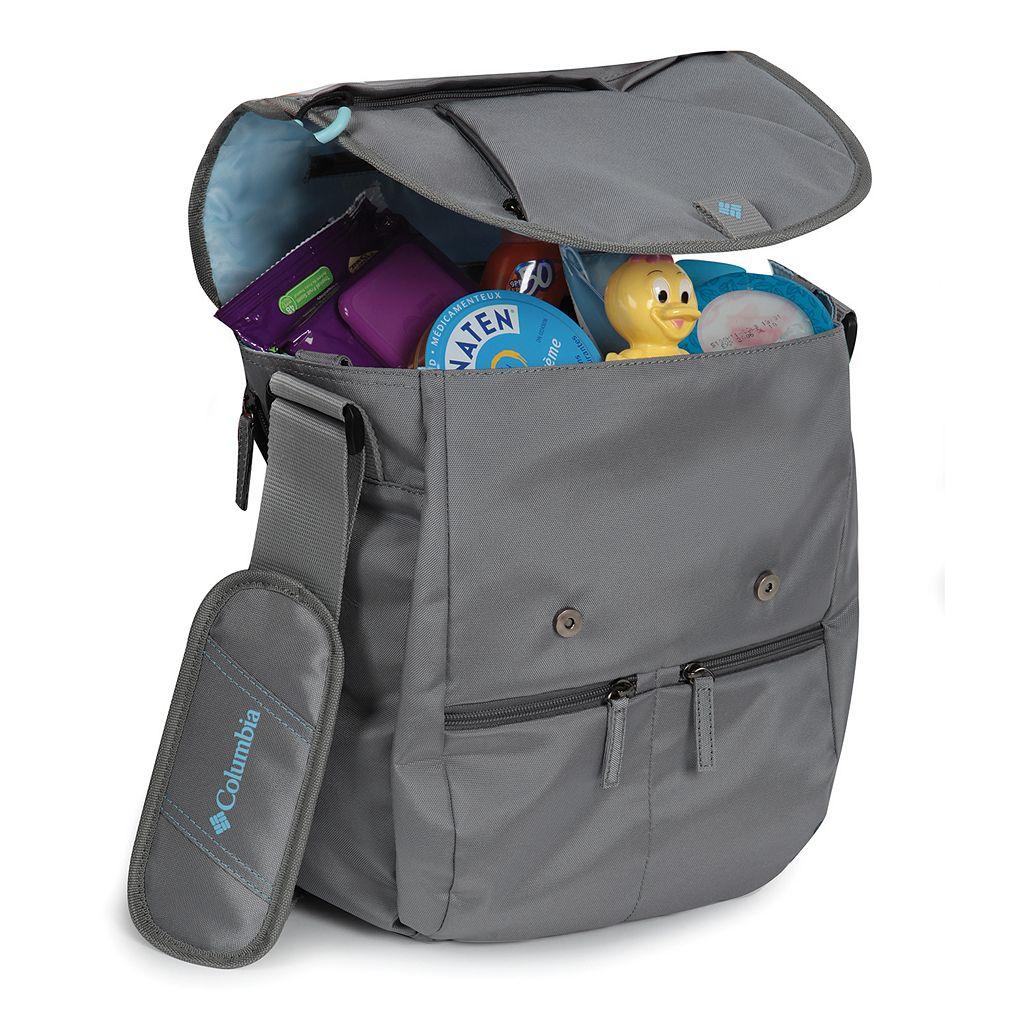 Columbia Rugged Path Expandable Messenger Diaper Bag