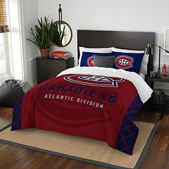 Montreal Canadiens Draft Full/Queen Comforter Set by Northwest