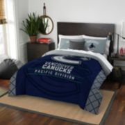 Vancouver Canucks Draft Full/Queen Comforter Set by Northwest