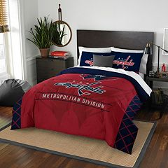 Washington Capitals Draft Full/Queen Comforter Set by Northwest