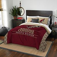 Arizona Coyotes Draft Full/Queen Comforter Set by Northwest