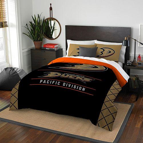 Anaheim Ducks Draft Full/Queen Comforter Set by Northwest