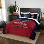 Florida Panthers Draft Full/Queen Comforter Set by Northwest