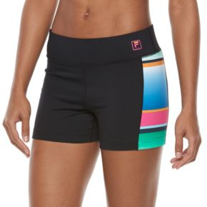 Women's FILA SPORT® Colorblock Compression Running Shorts