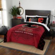 Calgary Flames Draft Full/Queen Comforter Set by Northwest