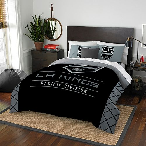 Los Angeles Kings Draft Full/Queen Comforter Set by Northwest