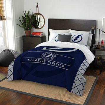 Tampa Bay Lightning Draft Full/Queen Comforter Set by Northwest