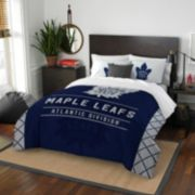 Toronto Maple Leafs Draft Full/Queen Comforter Set by Northwest