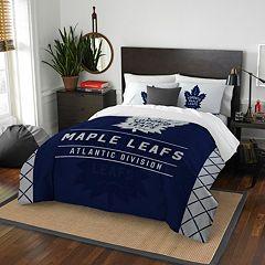 Toronto Maple Leafs Draft Full/Queen Comforter Set by Northwest