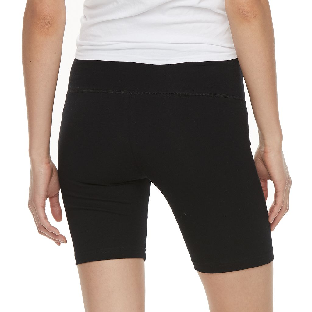 Juniors' SO® Bermuda Yoga Shorts