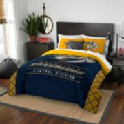 Nashville Predators Draft Full/Queen Comforter Set by Northwest