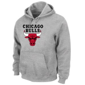 Big & Tall Majestic Chicago Bulls Pullover Hoodie