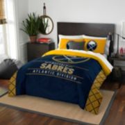 Buffalo Sabres Draft Full/Queen Comforter Set by Northwest