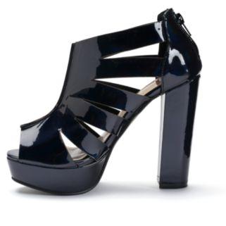 NYLA Bessie Women's Chunky-Heel Sandals