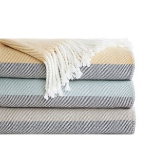 Urban Habitat Lexi Color Block Throw