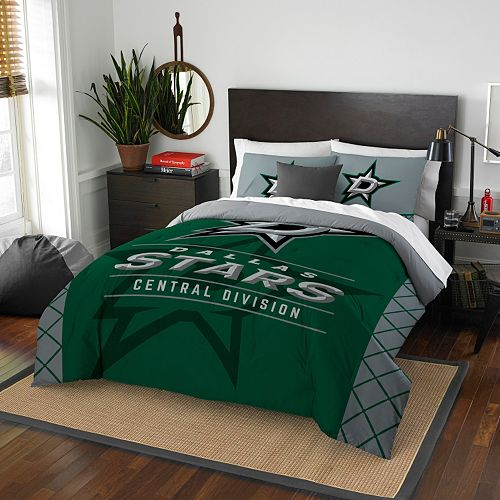 Dallas Stars Draft Full/Queen Comforter Set by Northwest
