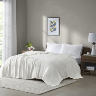 Premier Comfort Freshspun Basketweave Blanket
