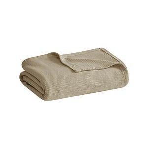 Madison Park Freshspun Basketweave Blanket