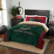 Minnesota Wild Draft Full/Queen Comforter Set by Northwest