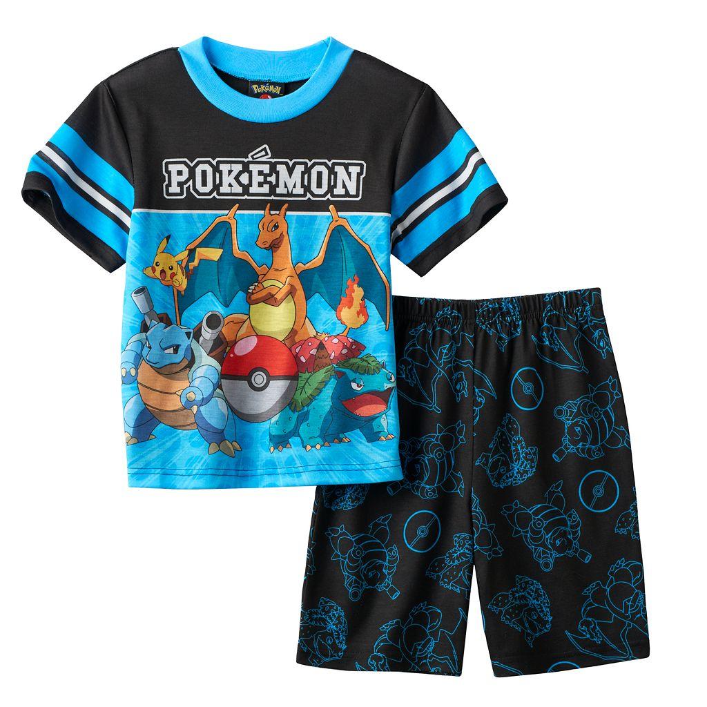 Boys 4-10 Pokemon 2-Piece Pajama Set