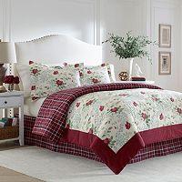 Laura Ashley Lifestyles Ella 4-piece Comforter Set