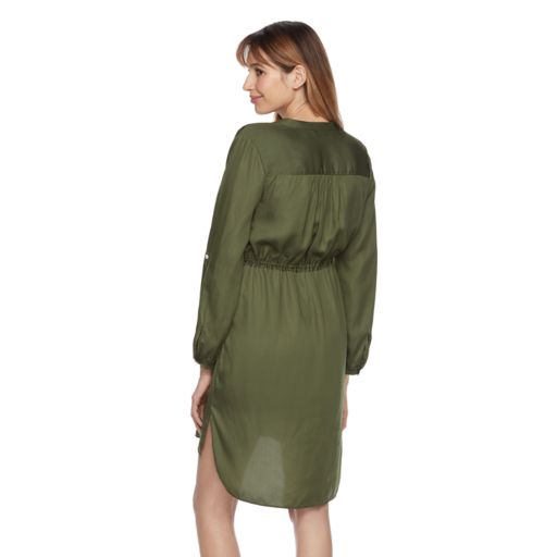 Maternity a:glow High-Low Hem Shirtdress