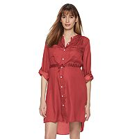 Maternity a:glow High-Low Hem Shirtdress