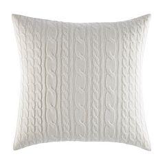 Laura Ashley Lifestyles Ella Knit Throw Pillow