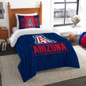 Arizona Wildcats Modern Take Twin Comforter Set by Northwest