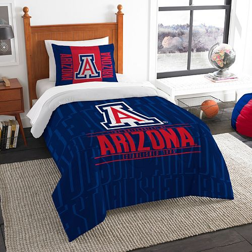 Arizona Wildcats Modern Take Twin Comforter Set by Northwest