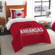 Arkansas Razorbacks Modern Take Twin Comforter Set by Northwest