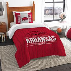 Arkansas Razorbacks Modern Take Twin Comforter Set by Northwest