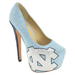 Women's Herstar North Carolina Tar Heels Rhinestone Pump High Heels