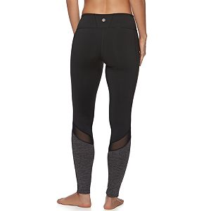 Women's Gaiam Om Mesh Yoga Leggings