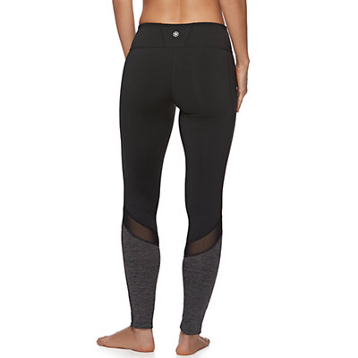 Women's Gaiam Om Mesh Yoga Leggings