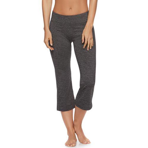 16b6cb2486 Women's Gaiam Om Straight Yoga Capri Leggings