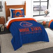 Boise State Broncos Modern Take Twin Comforter Set by Northwest