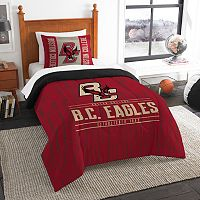 Boston College Eagles Modern Take Twin Comforter Set by Northwest
