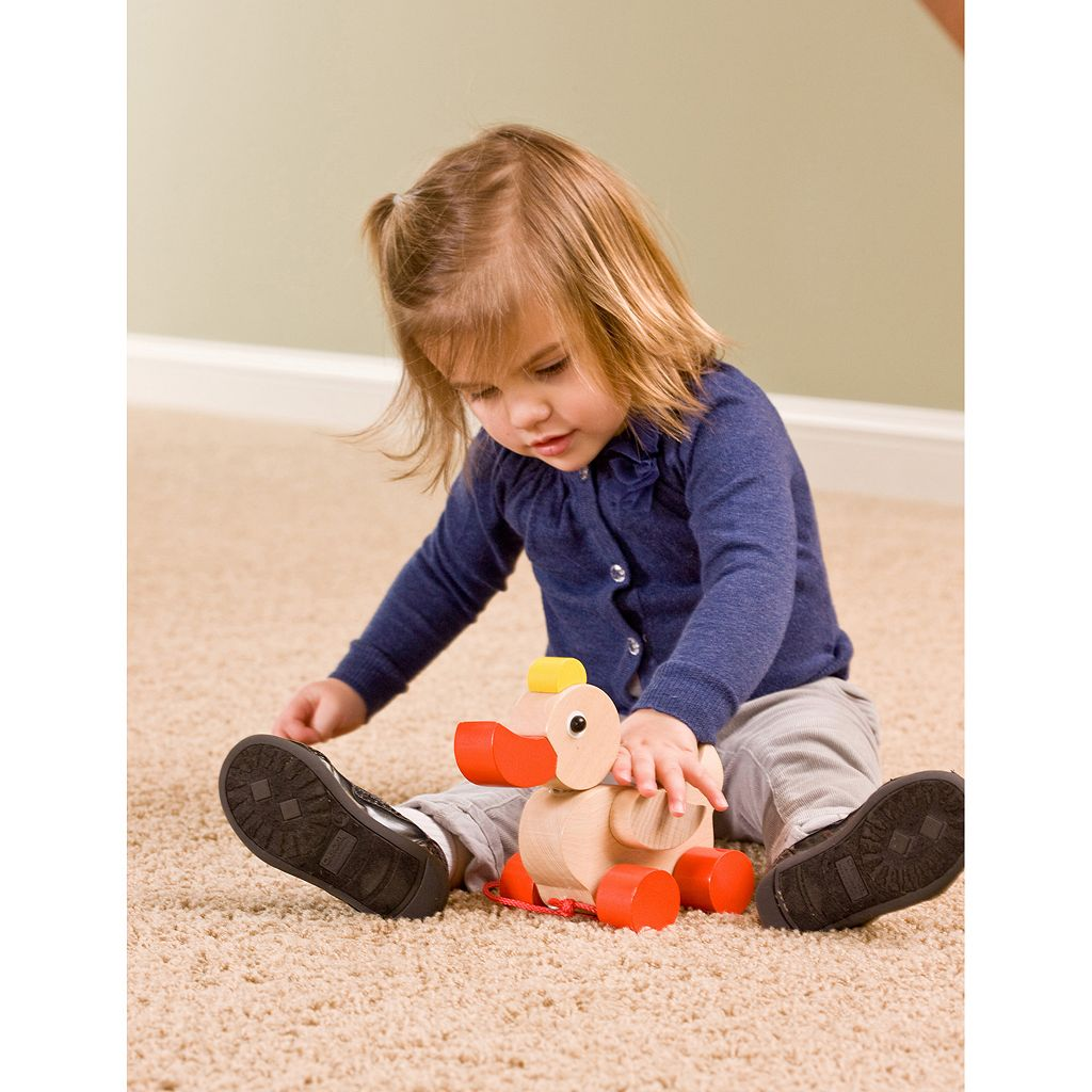 HABA Quack & Pull Classic Duck Wooden Pull Toy
