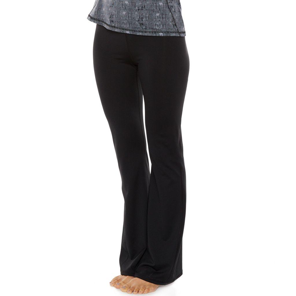 Women's Gaiam Om Zen Bootcut Yoga Pants