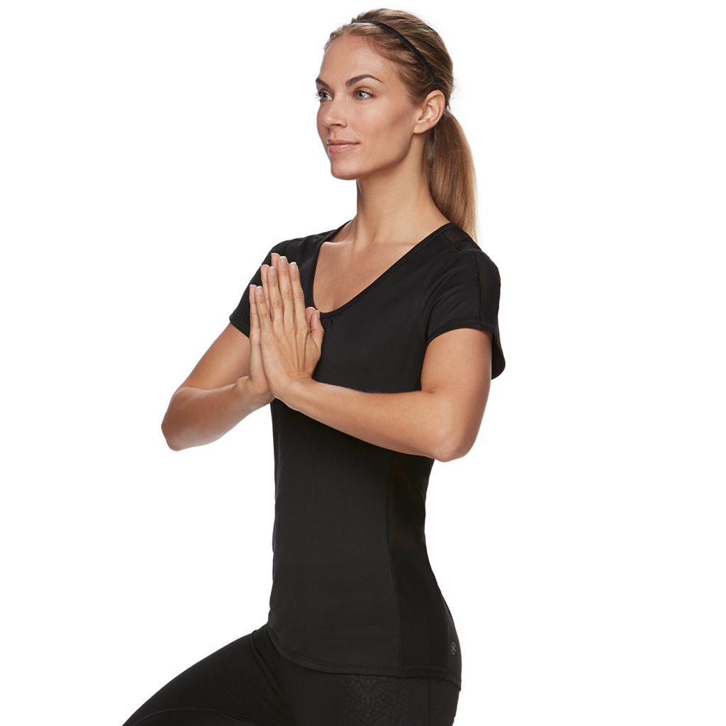 Women's Gaiam Reflection Yoga Tee