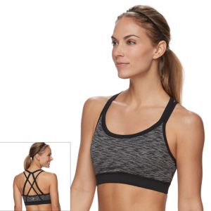 Gaiam Bra: Radiance Medium-Impact Yoga Sports Bra GKW171BRRD