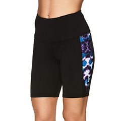 Women's Gaiam Om High-Rise Yoga Shorts