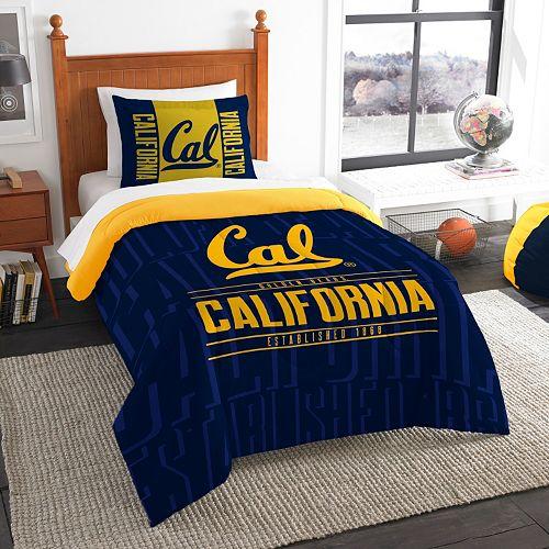 Cal Golden Bears Modern Take Twin Comforter Set by Northwest