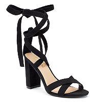 Candie's® Umbra Women's Chunky Heel Sandals
