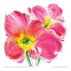Art.com Flowers Symphony II Wall Art Print