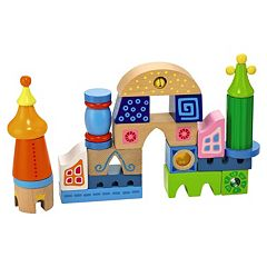 HABA Fortress Of Fun Wooden Block Set
