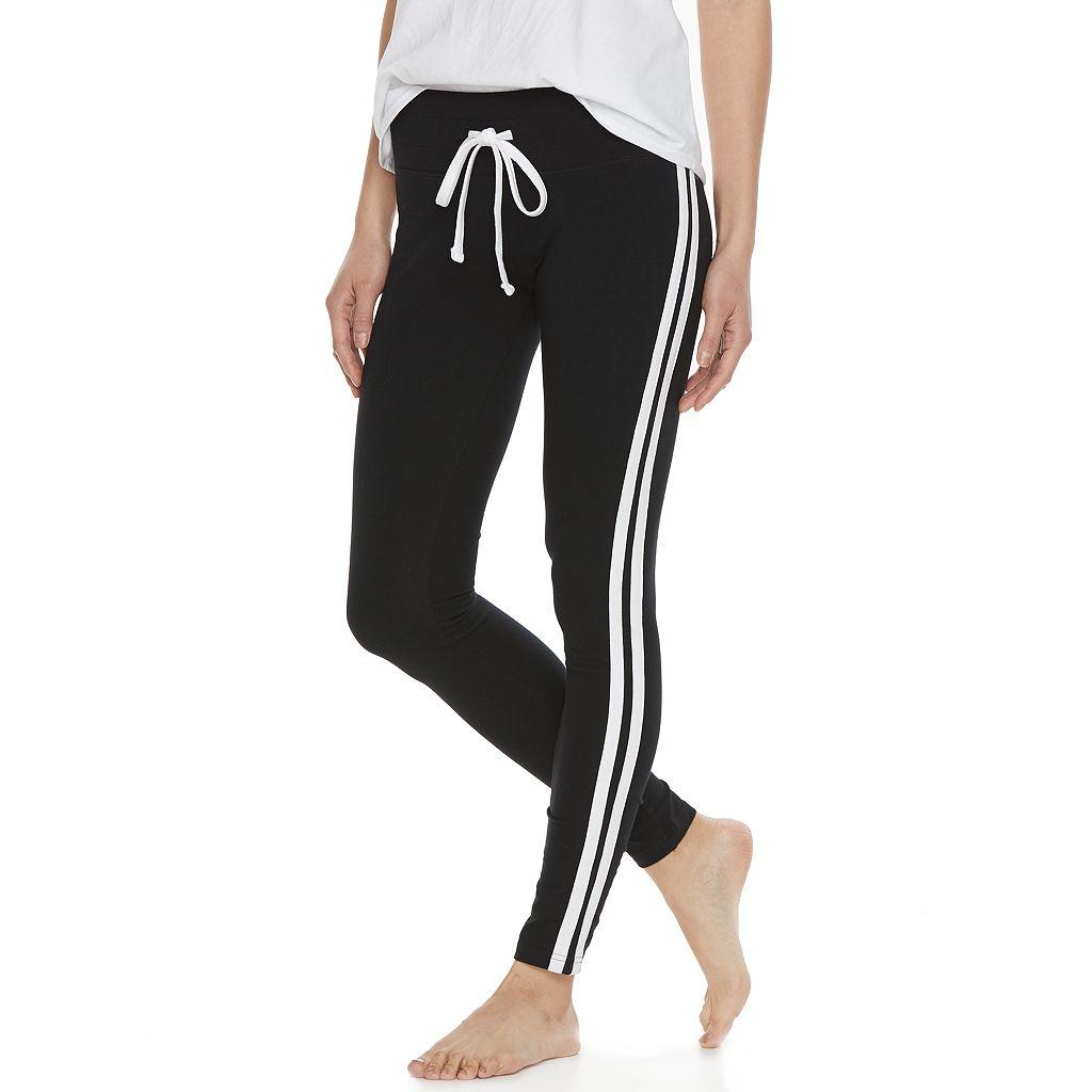 Juniors' SO® Side Stripe Yoga Leggings